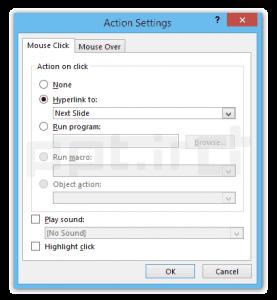 اضافه کردن Action Button