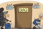 عراق در کاریکاتورهای آمریکایی